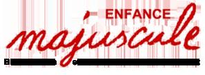 Enfance Majuscule – Bienvenue sur le site national de l'association Enfance Majuscule logo