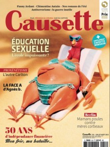 Couverture du magazine Causette n°58