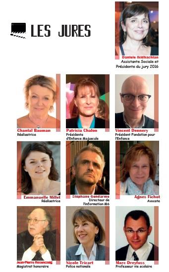 Les jurés du Prix Média Enfance Majuscule 2016