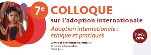 7e colloque sur l'adoption internationale